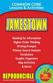Jamestown – Common Core Lessons & Activities