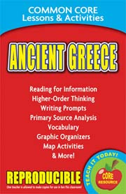 Ancient Greece – Common Core Lessons & Activities