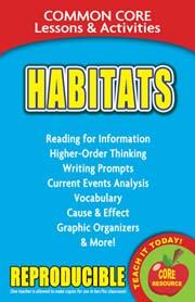 Habitats – Common Core Lessons & Activities