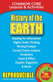 History of the Earth – Common Core Lessons & Activities