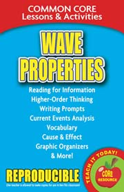 Wave Properties – Common Core Lessons & Activities