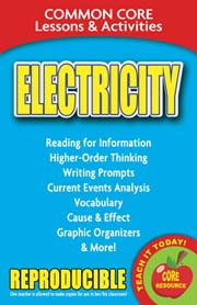 Electricity – Common Core Lessons & Activities