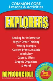 Explorers – Common Core Lessons & Activities