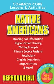 Native Americans – Common Core Lessons & Activities
