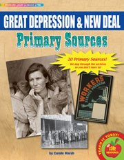 Great Depression & New Deal Primary Sources Pack