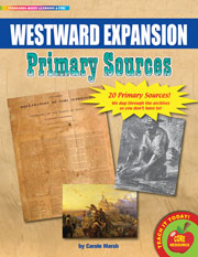 Westward Expansion Primary Sources Pack