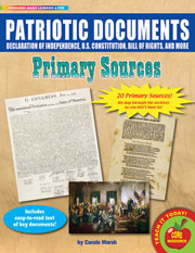 Patriotic Documents Primary Sources Pack