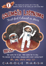 Columbia Lastname: First Girl Colonist on Mars