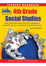 Louisiana Experience 4th Grade Student Workbook