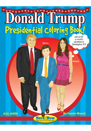 Donald Trump Presidential Coloring And Activity Book