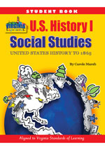 Virginia Experience U.S. History I Student Book