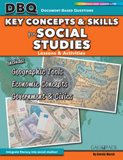 Key Concepts and Skills for Social Studies: Maps, Globes and Other Geographic Tools, Essential Economic Concepts, and Structure of the U.S. Government