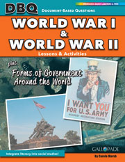 World Wars I and II plus Forms of Government Around the World
