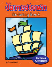 Jamestown Coloring and Activity Book