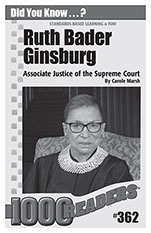Ruth Bader Ginsburg: Associate Justice of the Supreme Court  Consumable Pack 30