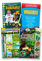 Habitats Set of 4