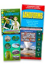Landforms Set of 4