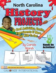 North Carolina History Projects - 30 Cool Activities, Crafts, Experiments & More for Kids to Do to Learn About Your State!
