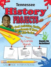 Tennessee History Projects - 30 Cool Activities, Crafts, Experiments & More for Kids to Do to Learn About Your State!