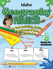 Idaho Geography Projects - 30 Cool Activities, Crafts, Experiments & More for Kids to Do to Learn About Your State!
