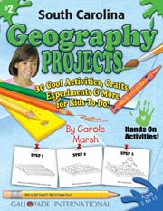 South Carolina Geography Projects - 30 Cool Activities, Crafts, Experiments & More for Kids to Do to Learn About Your State!