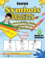 Georgia Symbols Projects - 30 Cool Activities, Crafts, Experiments & More for Kids to Do to Learn About Your State!