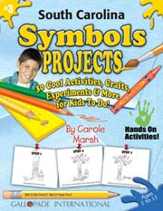 South Carolina Symbols Projects - 30 Cool Activities, Crafts, Experiments & More for Kids to Do to Learn About Your State!