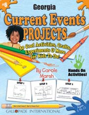 Georgia Current Events Projects - 30 Cool Activities, Crafts, Experiments & More for Kids to Do to Learn About Your State!