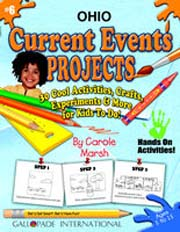 Ohio Current Events Projects - 30 Cool Activities, Crafts, Experiments & More for Kids to Do to Learn About Your State!