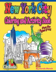 New York City Coloring & Activity Book