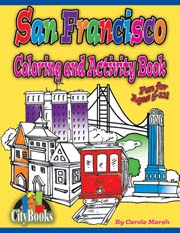 San Francisco Coloring & Activity Book