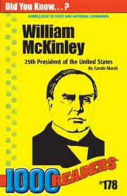William McKinley: 25th President of the United States