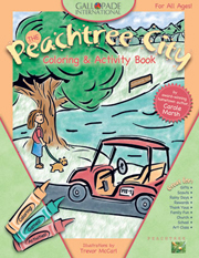 Peachtree City Coloring Book