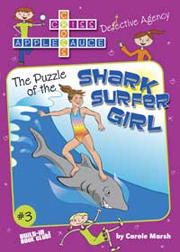 The Puzzle of the Shark Surfer Girl