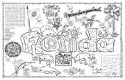 Florida Symbols & Facts FunSheet – Pack of 30