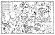 Louisiana Symbols & Facts FunSheet – Pack of 30