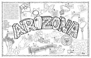 Arizona Symbols & Facts FunSheet – Pack of 30