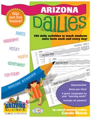 Arizona Dailies: 180 Daily Activities for Kids