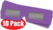 3D Glasses 10 Pack