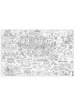 Callaway Gardens Giant Coloring Poster (includes crayons!)