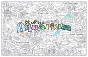 Georgia Aquarium Giant Coloring Poster (includes crayons!)