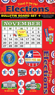 Ticket to the Top - Presidential Elections Bulletin Board