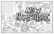New Hampshire Symbols & Facts FunSheet – Pack of 30