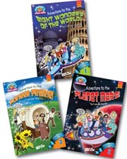 Fantasy Field Trip Set of 3 Paperbacks