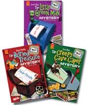 Postcard Mysteries Set of 3 Paperbacks