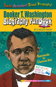 Booker T. Washington Biography FunBook