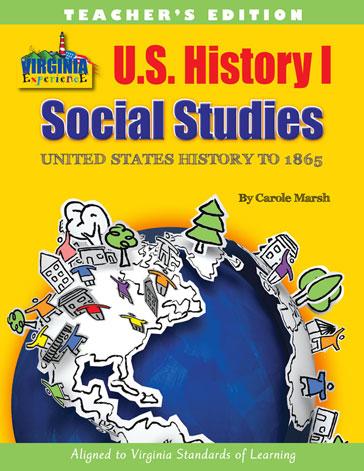 Virginia Experience U.S. History I Teacher's Edition