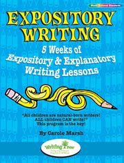 Expository Writing: 5 Weeks of Expository & Explanatory Writing Lessons