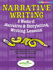 Narrative Writing: 5 Weeks of Narrative & Storytelling Writing Lessons