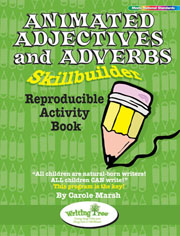 Animated Adjectives and Adverbs Skillbuilder Reproducible Activity Book